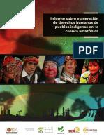 Derechos indígenas y actividades Chinas