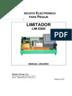 (2008.09.10) V6.03 MANUAL R. Limitador E600 (1)