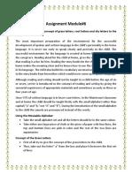 PMC Module 6 Assignment (Sada Gul Roll#D12905)