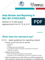 Quality Management System Data Review and Reporting 2017