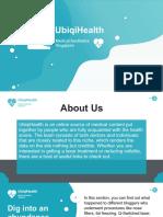 UbiqiHealth - Aesthetic medicine Portal