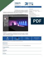 Proyecto iluminaacion interior y exterior con Dialux