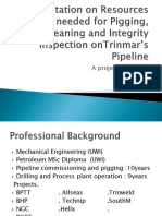 Presentation on Resources Needed for Integrity Reliability and Maintenance on Trinmar's Pipeline