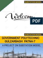 Substation model