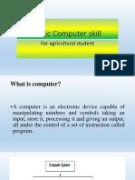 Basic Computer Skill