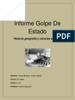 Informe Golpe de Estado To0mas
