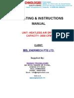 Dryer Manual