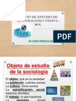 objeto de estudio de la sociologia