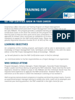 PMP Course Agenda