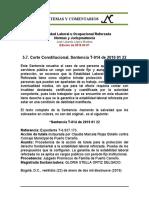 Estabilidad Laboral Reforzada 5.8. 2019 01 22 T-014
