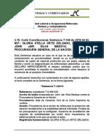 Estabilidad Laboral Reforzada 5.10. 2019 04 02 T-146