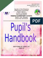 Pupils-Handbook MABINI ES