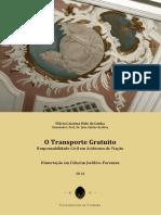 O Transporte Gratuito Responsabilidade Civil Em Acidentes de Viacao