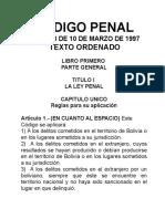 Codigo Penal Boliviano | Infocuria