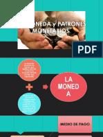 La Moneda, Patrones Monetarios, Ley de (1)