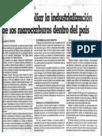Asamblea  Camara Petrolera - Ampliar Industrialización de hidrocarburos del pais Diciembre (1985)