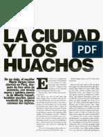 Fuguet La Ciudad y Los Huachos