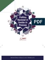 Politica Gestaodepessoas mpt 2018