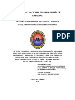 Tesis ISO 45001