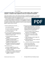 Analisis Literario La Noche Boca Arriba