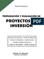 Preparación y Evaluación de Proyectos de Inversión