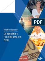 Sebrae Os Negocios Promissores Em 2018