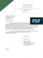 July 2012 NICS FBI CJIS Audit Final Plus DOS Response Redacted