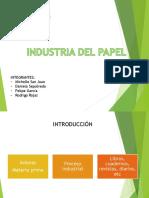 Trabajo Industria Del Papel - Procesos de Fabricación