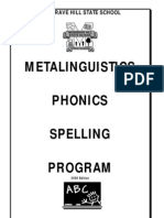 spelling program excellent for all planning save for next year