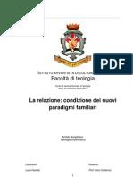 Relazione Condizione .... Tesi Luca Faedda