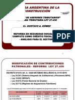 Reforma Seguridad Social Construccion
