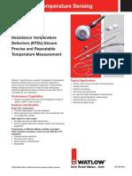 RTD Temperature Sensor Datasheet