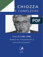 Escritos de teoría psicoanalítica 2