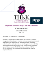 Theta Healing Carte PDF Terapia Teta Boli Și Afecțiuni