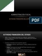 Administración Fiscal