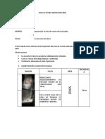 Informe Nº 001 Inspeccion 01