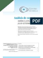 Analisis Coyuntura Lac Julio-sept 2010