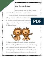 """Cuentos Con Fonemas La Letra """"L"""" Luca Lee Su Libro"""