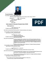 Curriculum Vitae (Alex Candra)