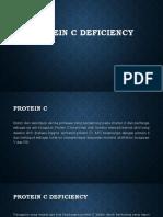 Protein C Deficiency