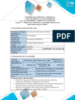 Guía de Actividades y Rúbrica de Evaluación -Tarea 3 – Medios de Contraste