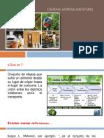 4.2 Cadena Agroalimentaria