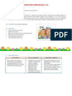 PROYECTO DE LONCHERAS  N°  01 - Abril