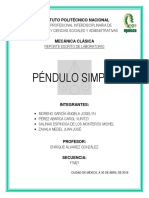 Practica #6 Pendulo Simple (Final)