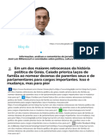 Blog do JLB - O governo Caiado