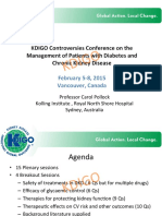 KDIGO Diabetes Controversies Pollock