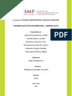 Informe Ejecutivo de Mktg