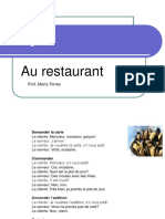 57322924 10 Dialogue Au Restaurant Et Partitif