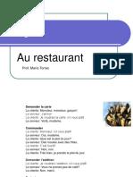 57322924 10 Dialogue Au Restaurant Et Partitif