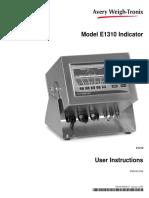 e1310 Indicator User Manual. Engpdf